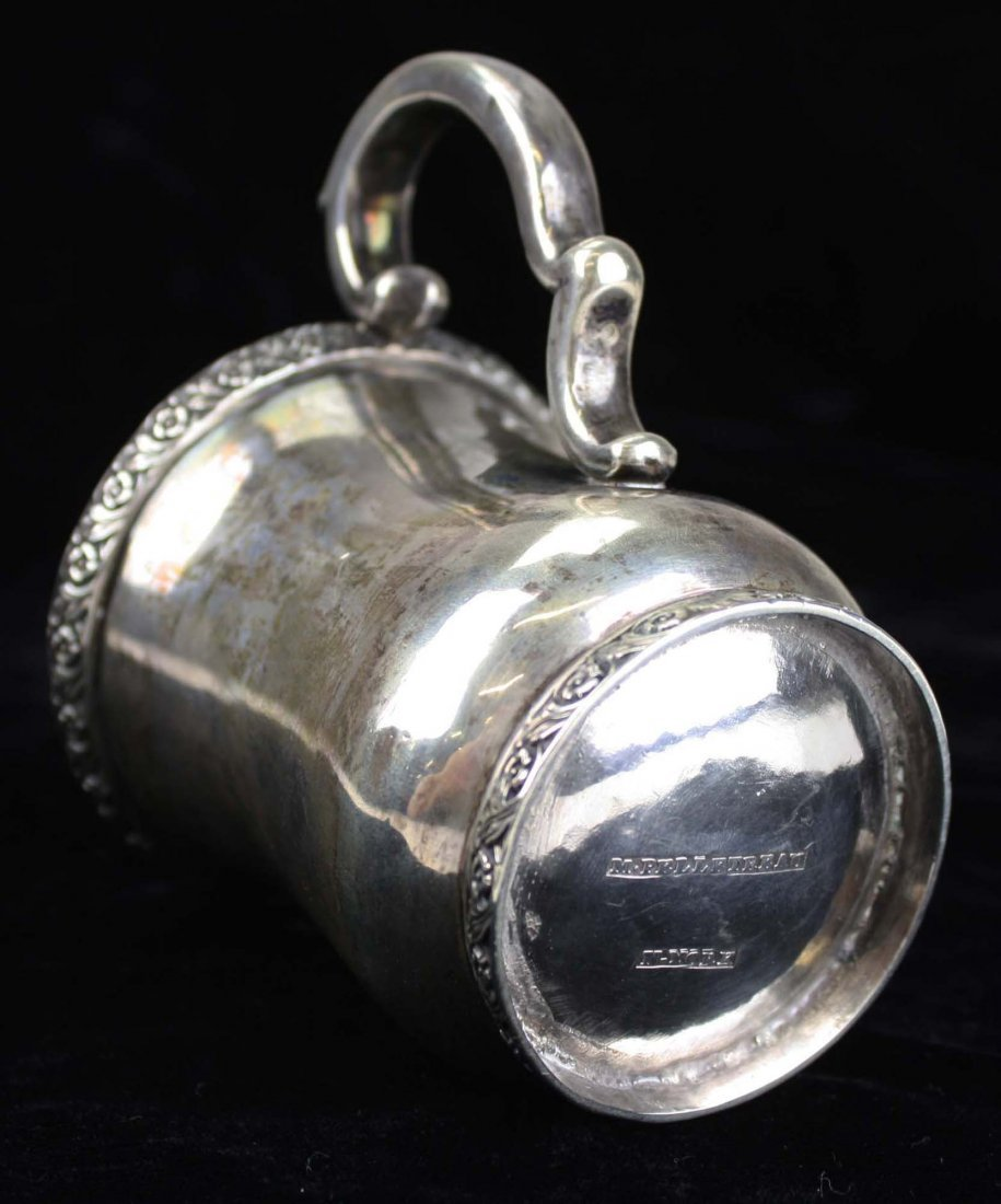 Sterling silver cup by Maltby Kingston Pelletreau - 5