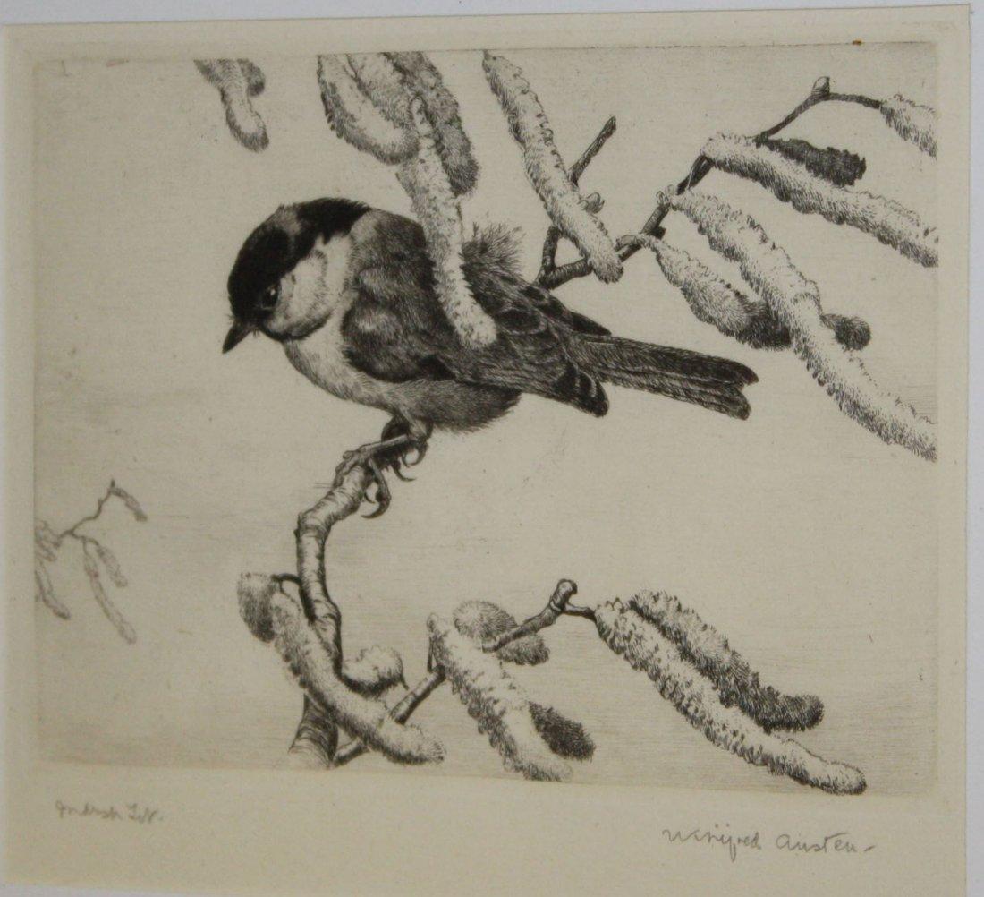 "Winifred Marie Austen (English 1876-1964) Marsh 4 x 6"""