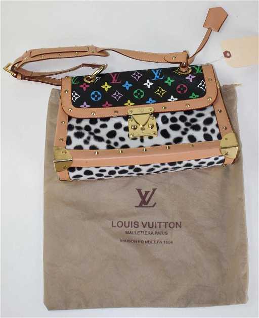 c7f6962a67b2 Louis Vuitton multicolor Dalmatian Sac Rabat Bag with