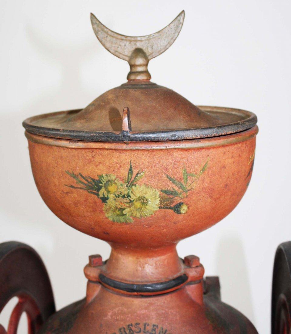 Crescent # 5 Rutland, VT cast iron coffee grinder, - 5
