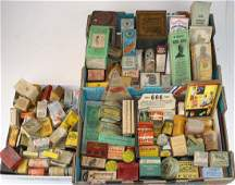 early 20th c medicines, advertising, including tins,
