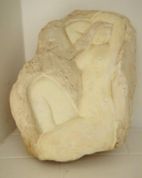 2: Aharon Priver (1902-1979, Israeli) Nude
