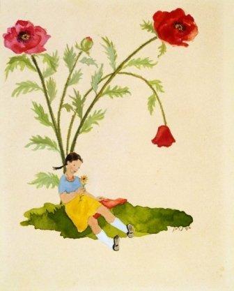 14:Ann Neumann (1906-1955, Israeli) Illustrations