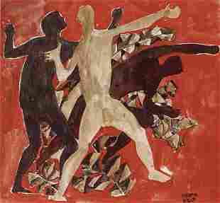 23:Bela Kadar (Hubgarian ,1877-1956) Dancers