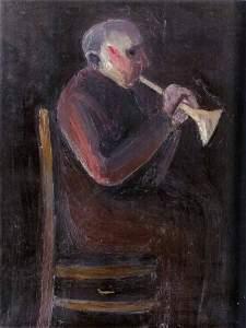 144: Lev Tabenkin (Russian B. 1952) Hornblower