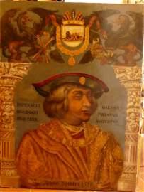 A 16th Century Oil School of Giulio (Pippi) Romano,
