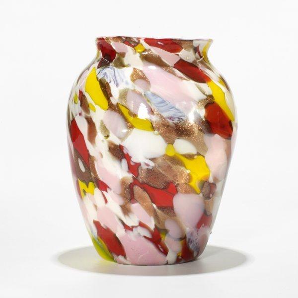 602: Artisti Barovier, Attribution Murrina vase