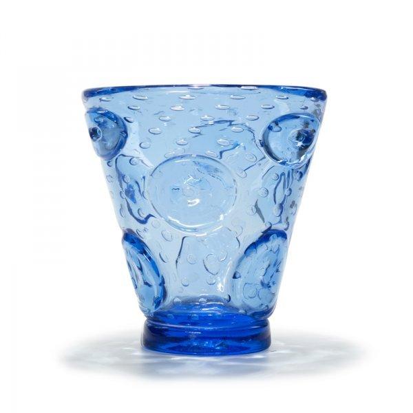 609: Ercole Barovier Con applicazioni vase