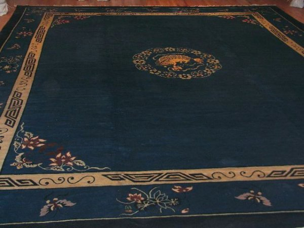 5: Antique Art Deco Chinese / Rug Number 109193