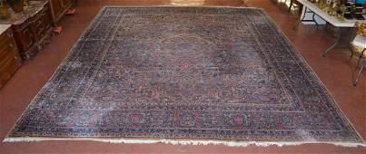 Rare Antique Persian Style Rabar Kerman Palatial