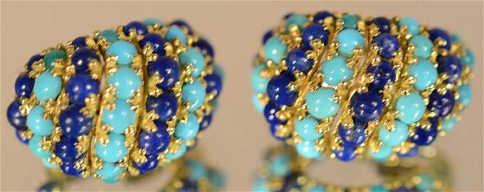 Vintage Pamillato 18kt. Gold Earings