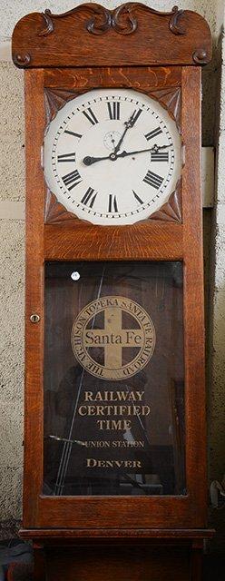 Oak Railroad Station Clock