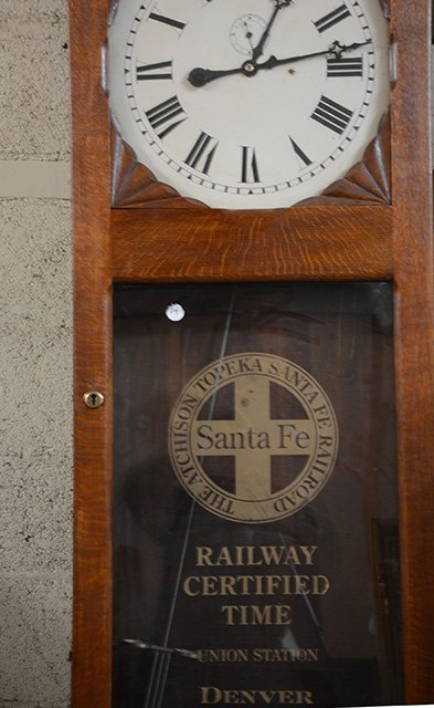 Oak Railroad Station Clock - 2