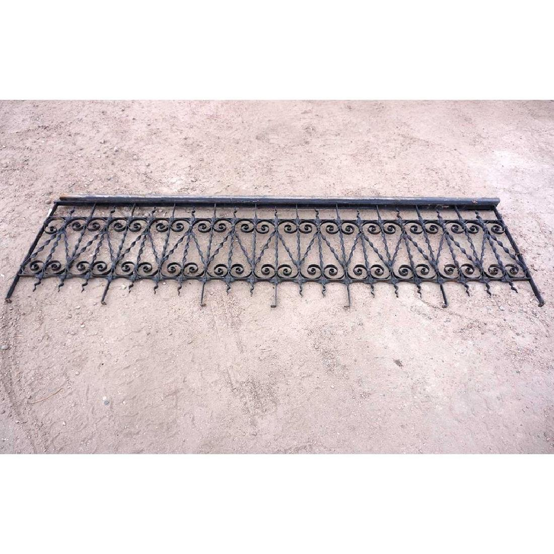 American Victorian Wrought Iron Fencing