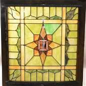 Fabulous Stain Glass Skylight