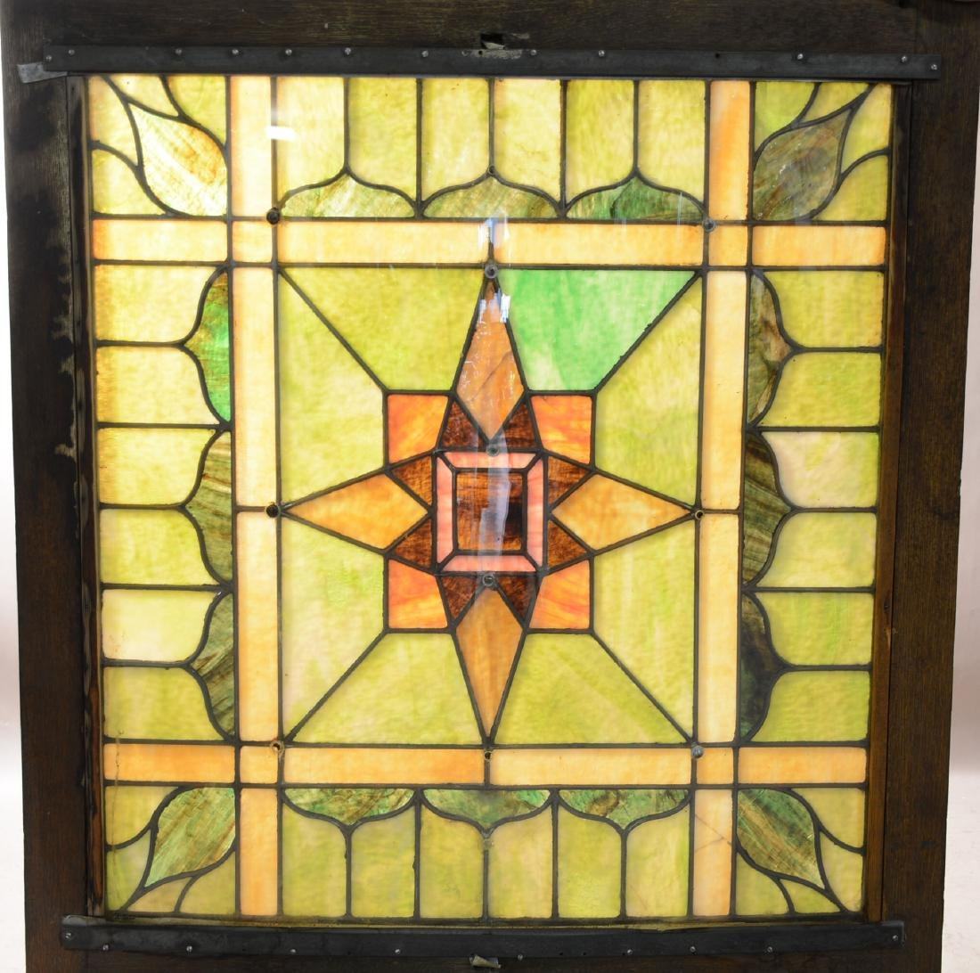 Fabulous Stain Glass Skylight
