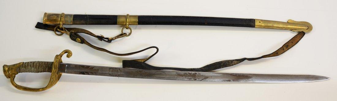 U.S. Naval Officers Sword, Model 1852