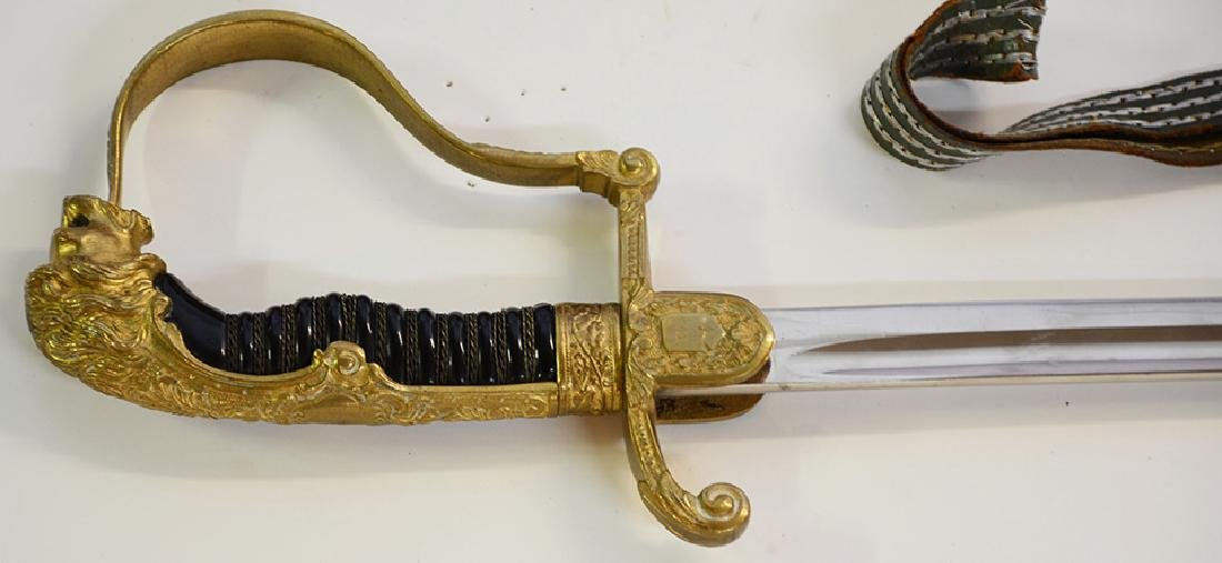 Nazi Officers Sword - 2