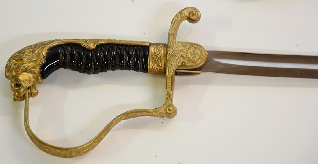 Nazi Officers Sword - 3