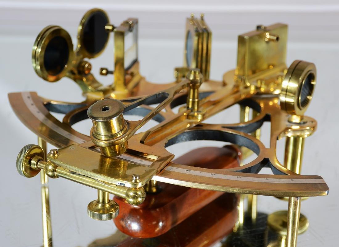 Alder & Co. Brass Sextant