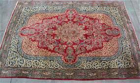 Kerman Style Antique Wool Carpet