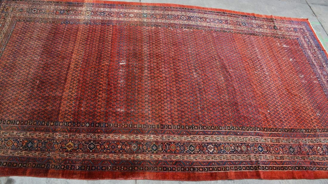 Saraban Style Antique Wool Carpet
