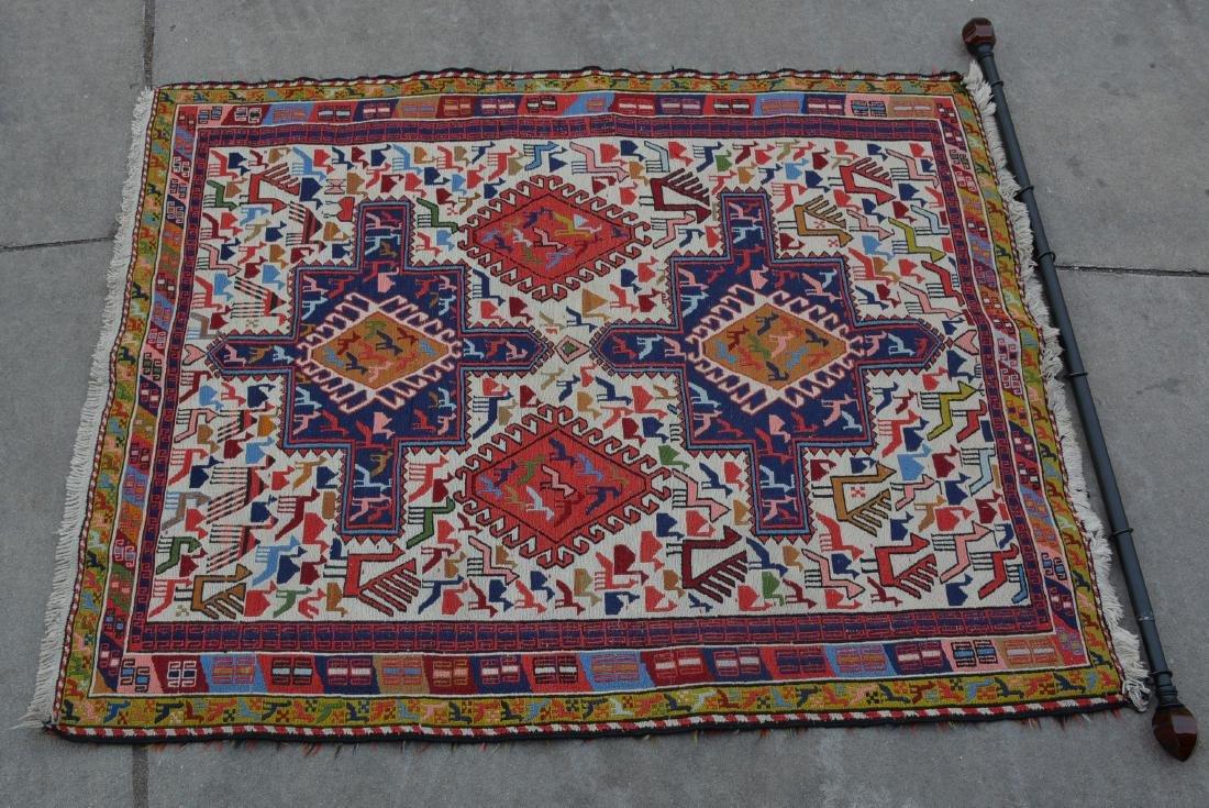 Persian Sumac Style Hand Tied Carpet