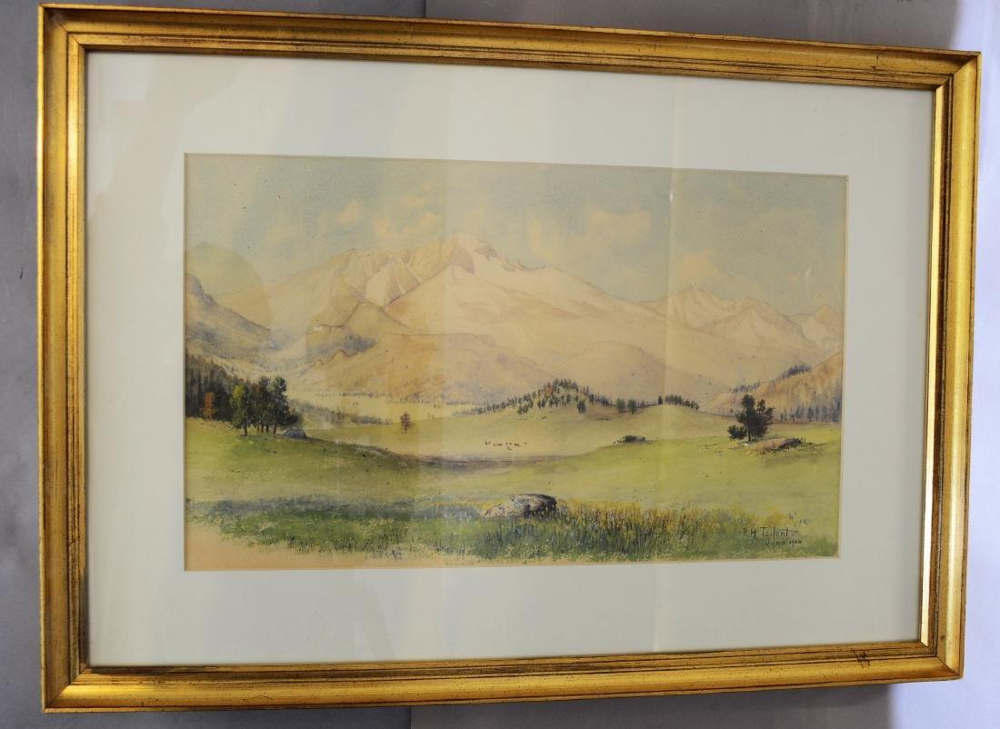 Longs Peak by R.H. Tallant