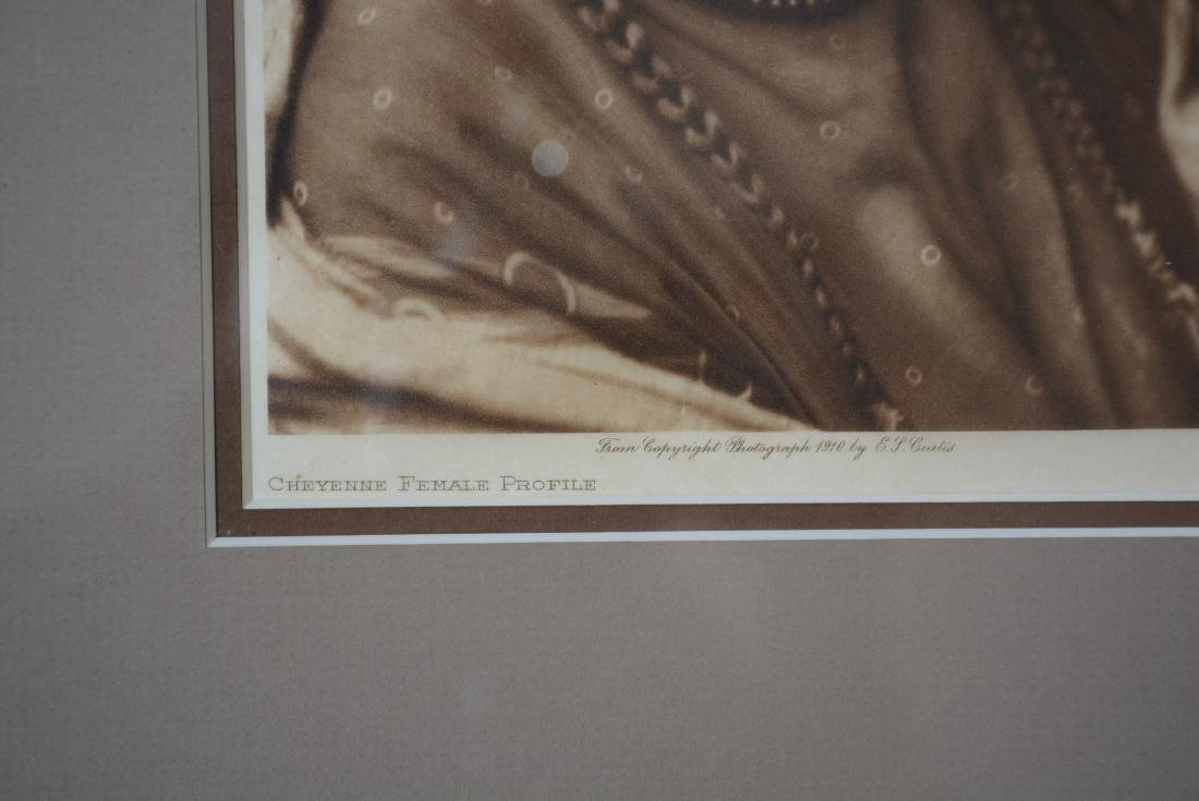 "Edward S. Curtis ""Cheyenne Female Profile"" - 3"
