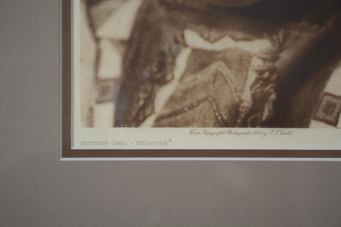 "Edward S. Curtis ""Sitting Owl-Hidatsa"" - 3"