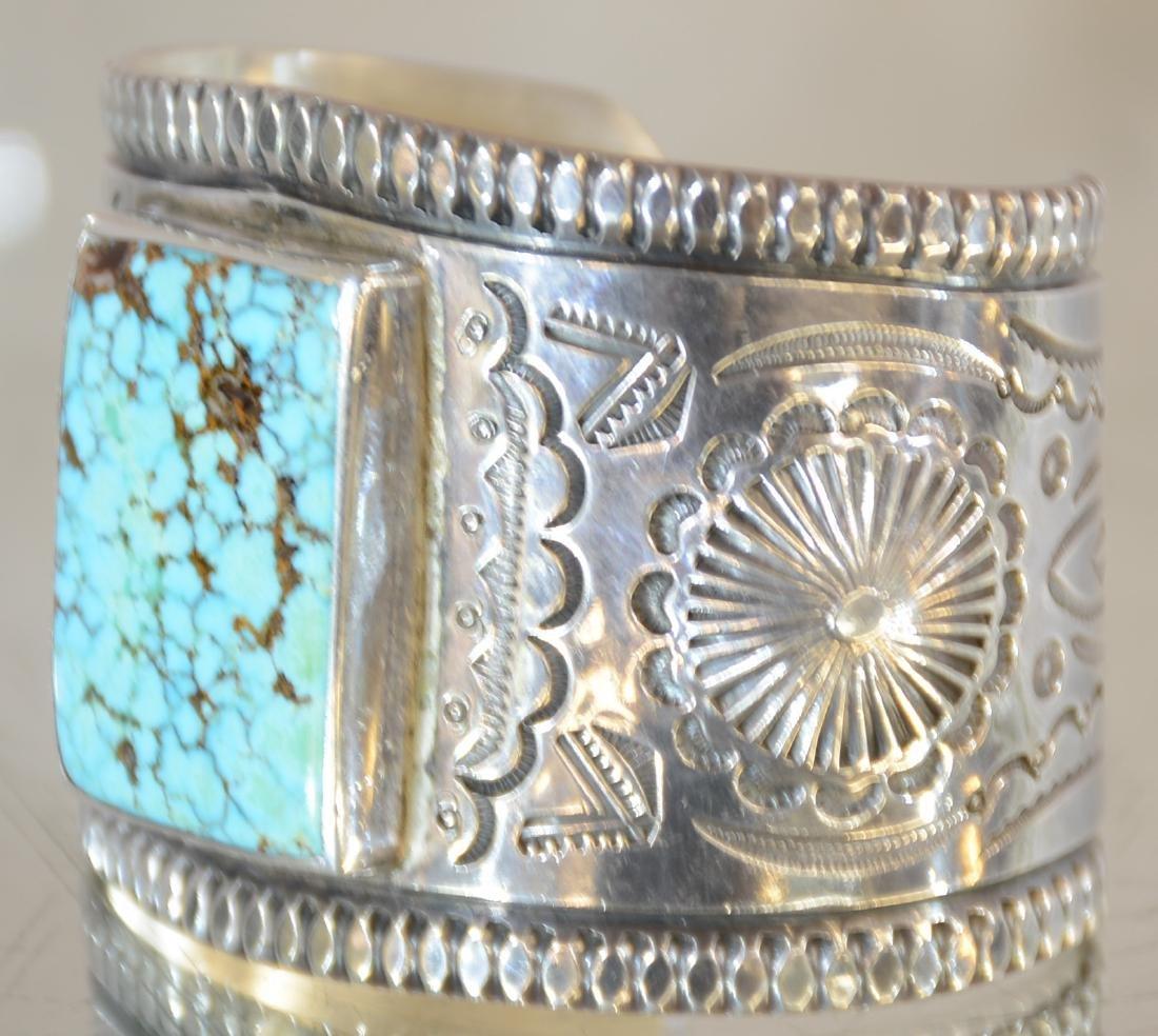 Mark Chee Mans Indian Navajo Bracelet - 2