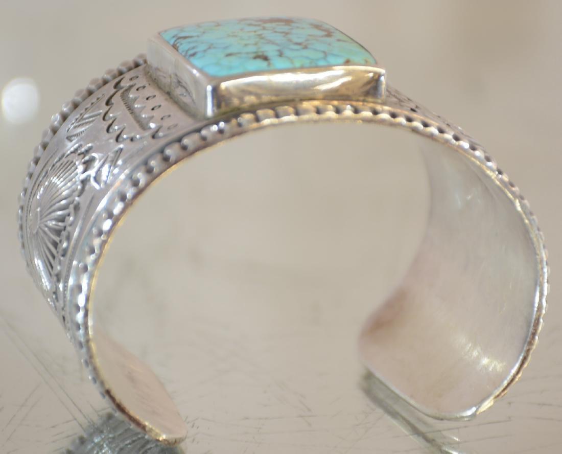 Mark Chee Mans Indian Navajo Bracelet - 3