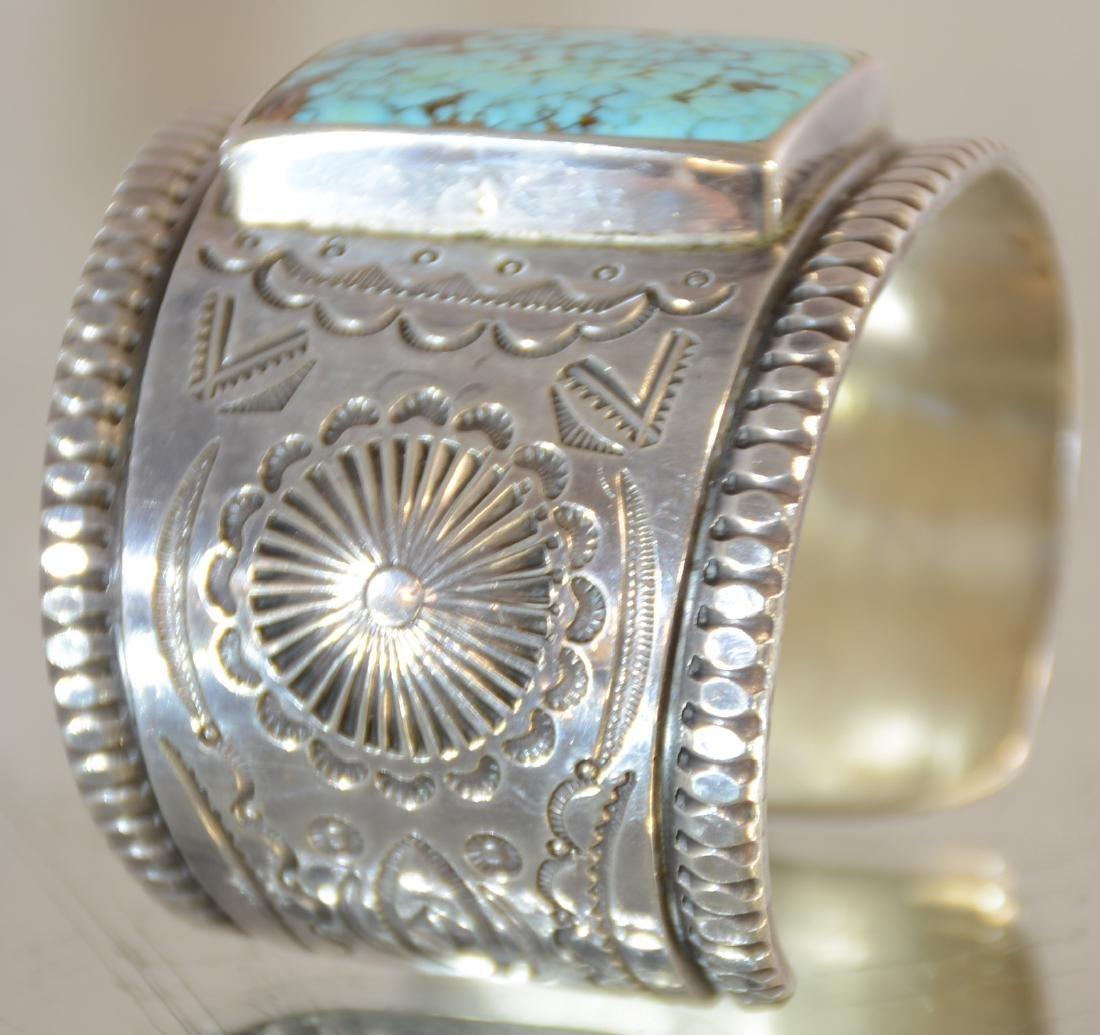 Mark Chee Mans Indian Navajo Bracelet - 4