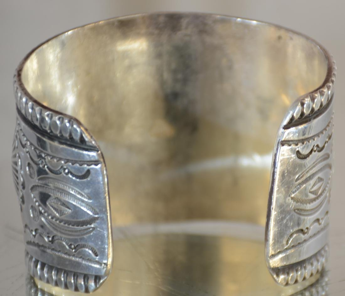 Mark Chee Mans Indian Navajo Bracelet - 5