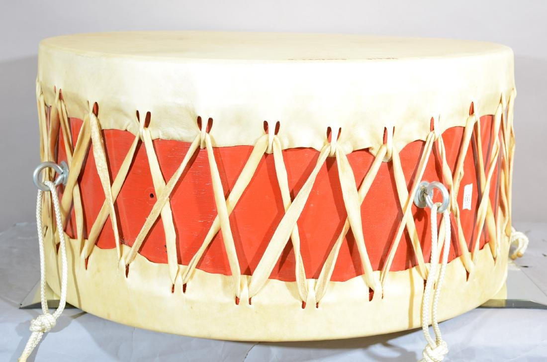 Native American Indian Ceremonial Drum