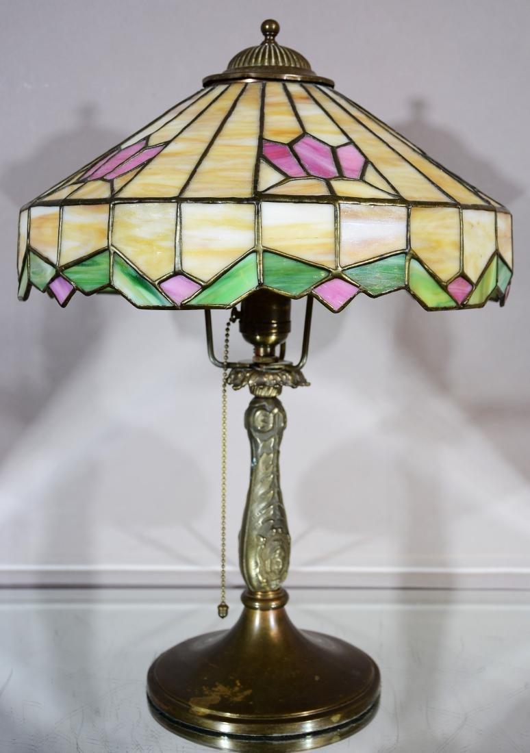 Art Nouveau Style 1920's Parlor Lamp