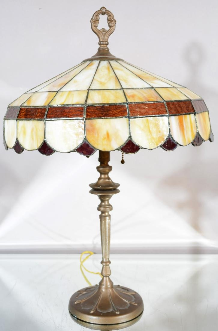 Bradley & Hubbard Art Nouveau Style Parlor Lamp