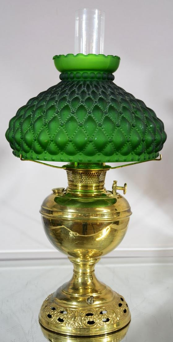 Bradley & Hubbard Parlor Lamp