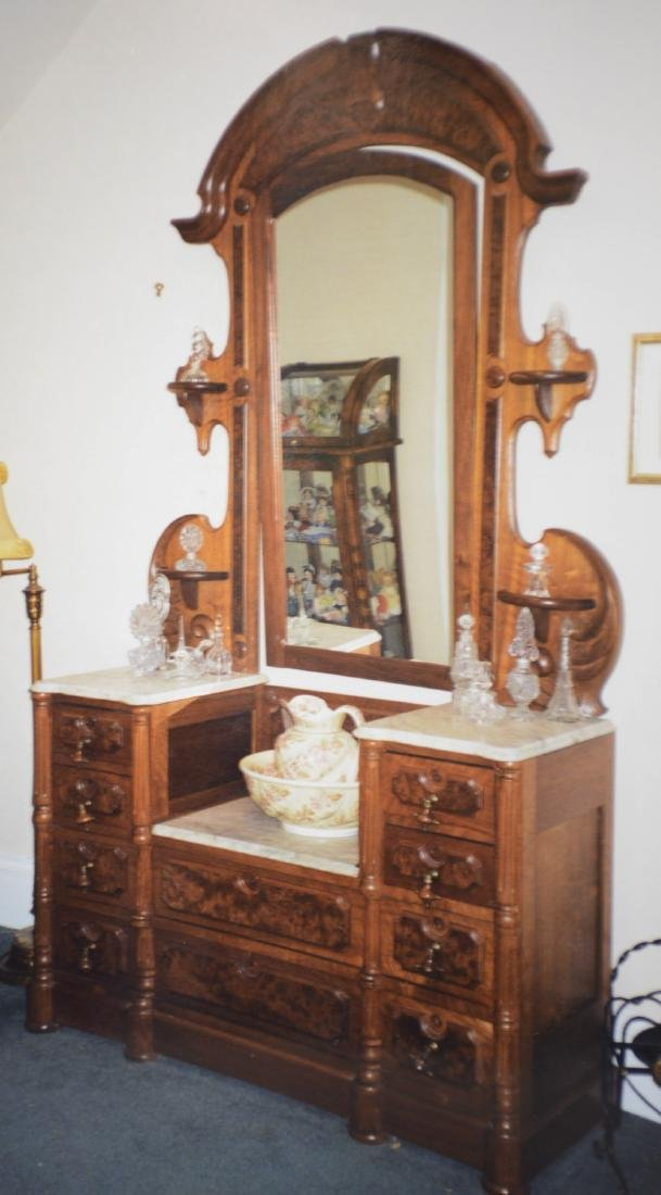 Renaissance Walnut American Princess Dresser