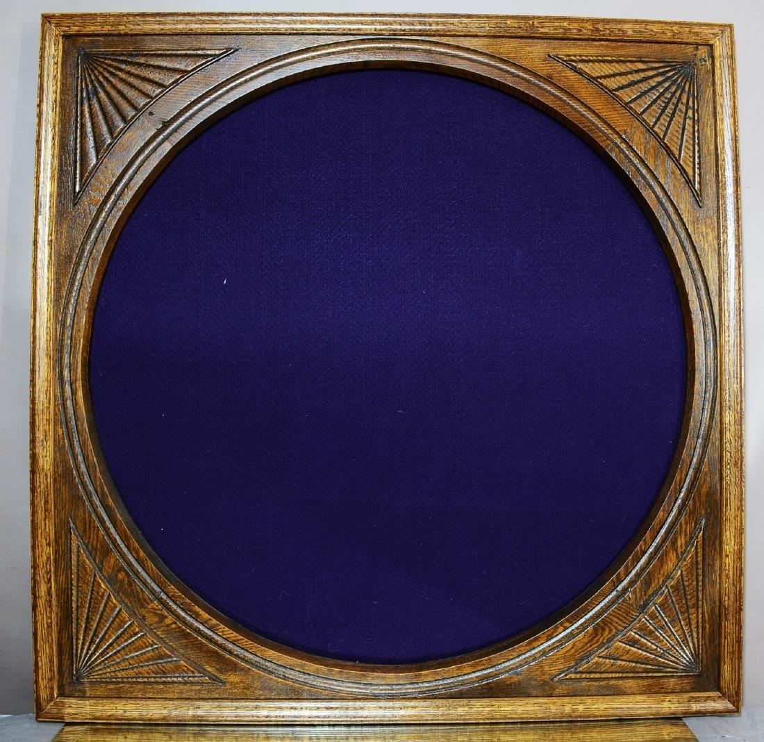 Turn of the Century Oak Square Frame