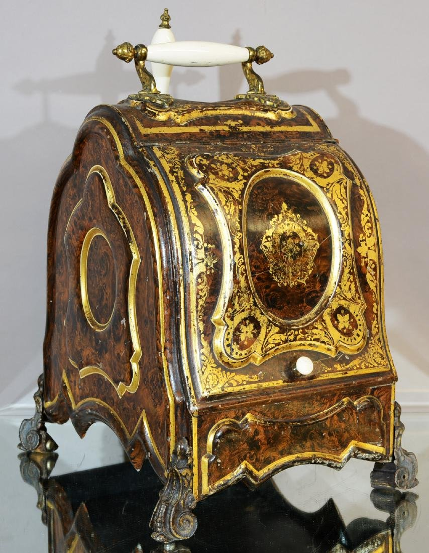 English Decorated Coal Hod