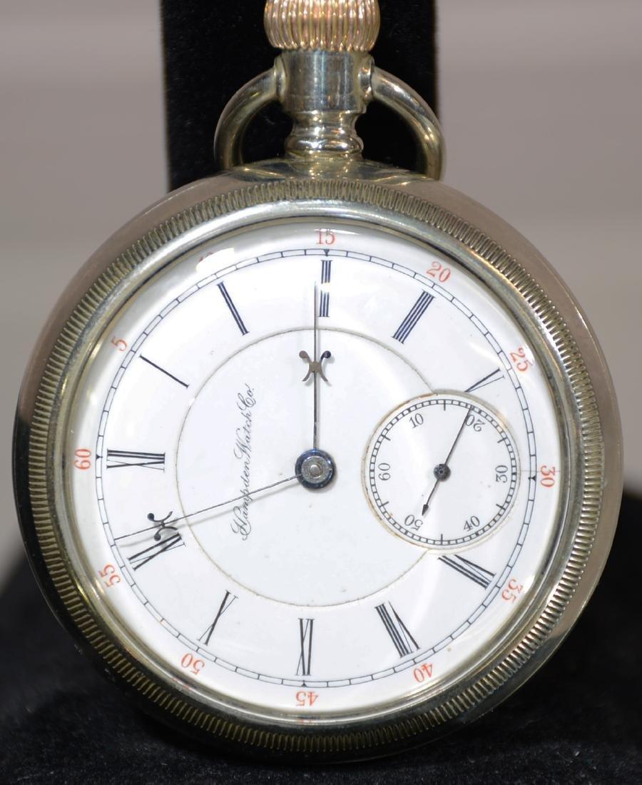 Hampden Watch Co. Railman Pocket Watch
