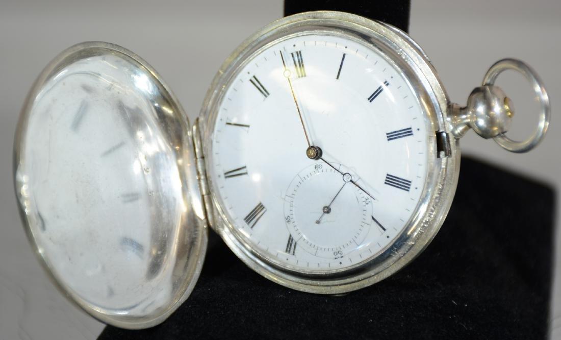 Early Key Set Gentlemens Hunting Case Pocket Watch