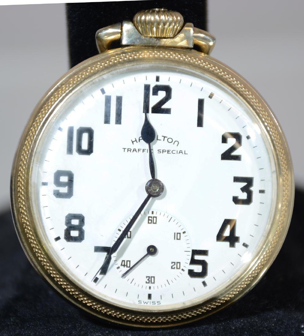 Hamilton Traffic Special 17 Jewel Pocket Watch