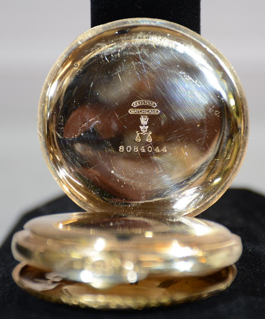 Hamilton Hunting Case 17 Jewel Mens Pocket Watch - 3