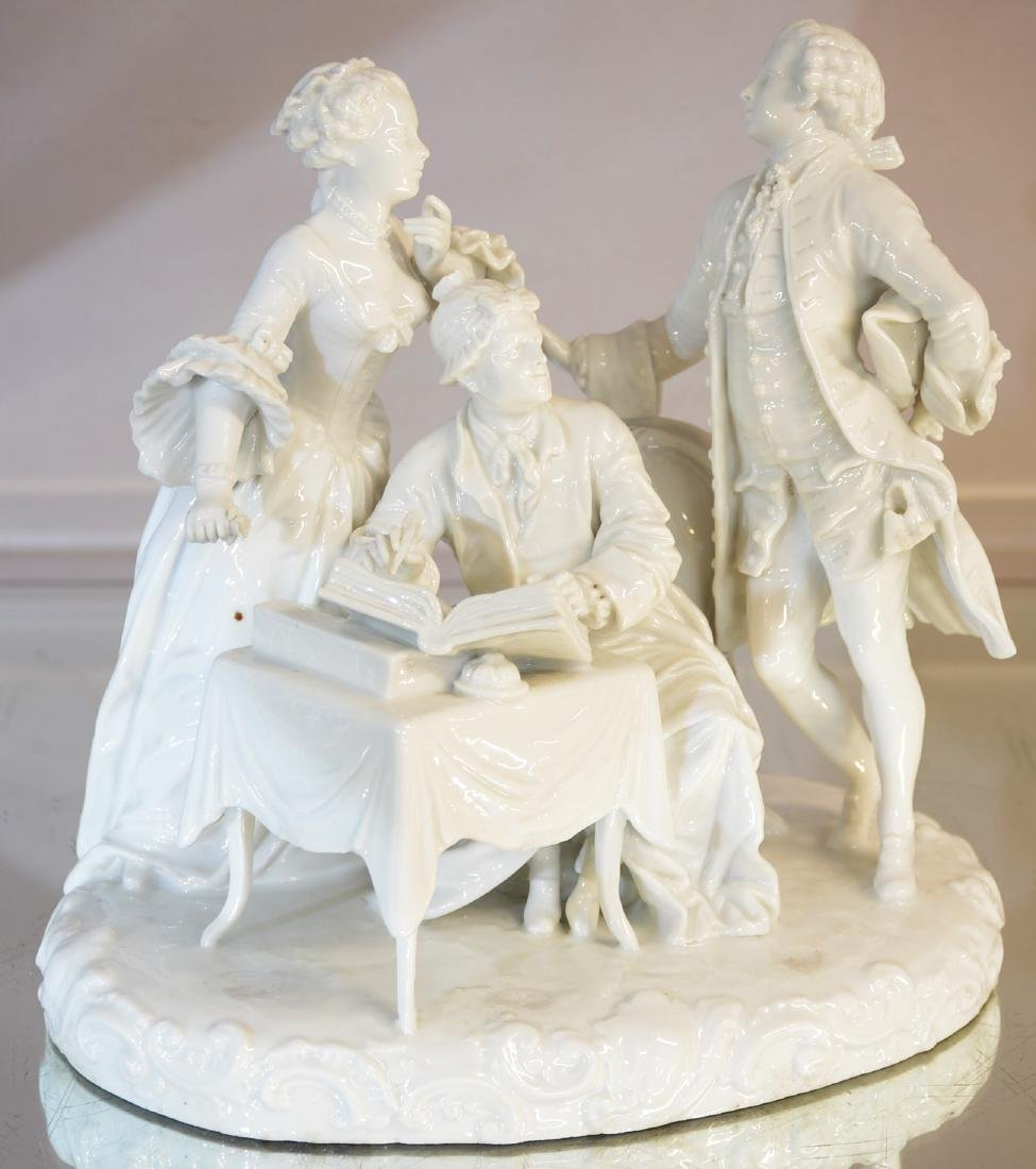 Capodimonte Porcelain Figural Group