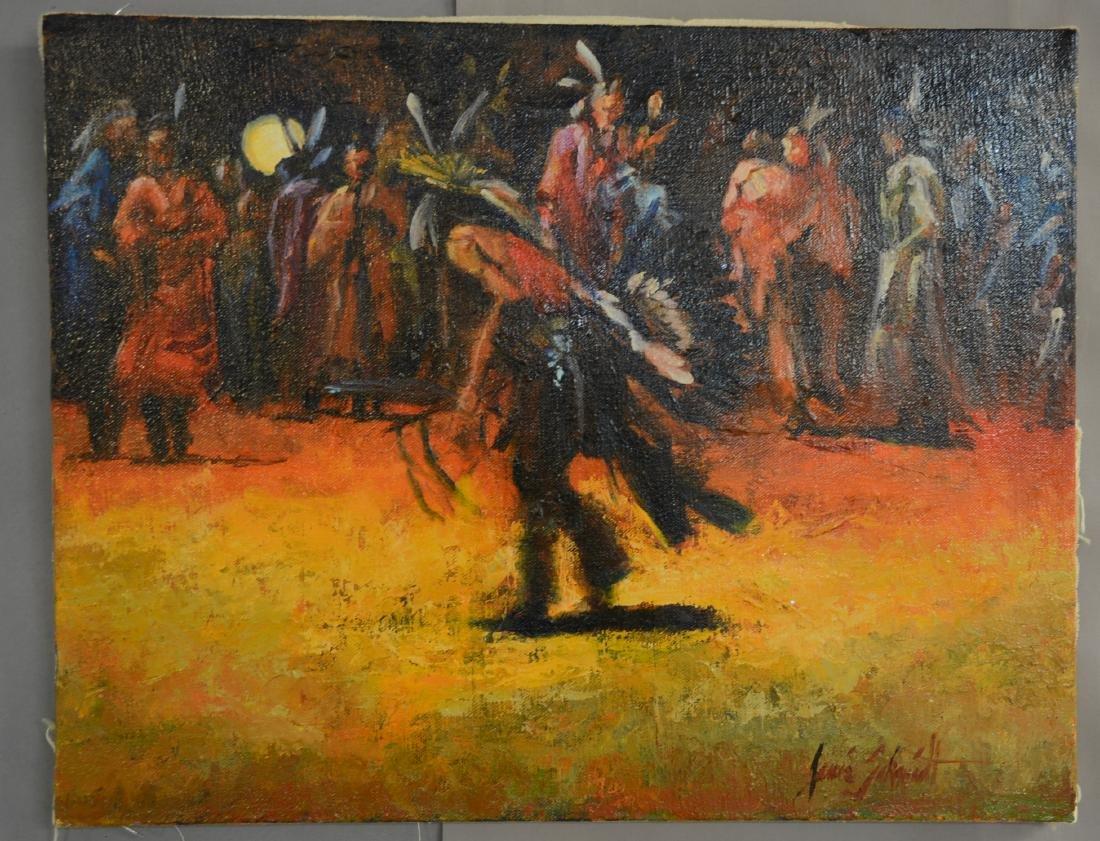 Western Painting of Hopi Snake Dance