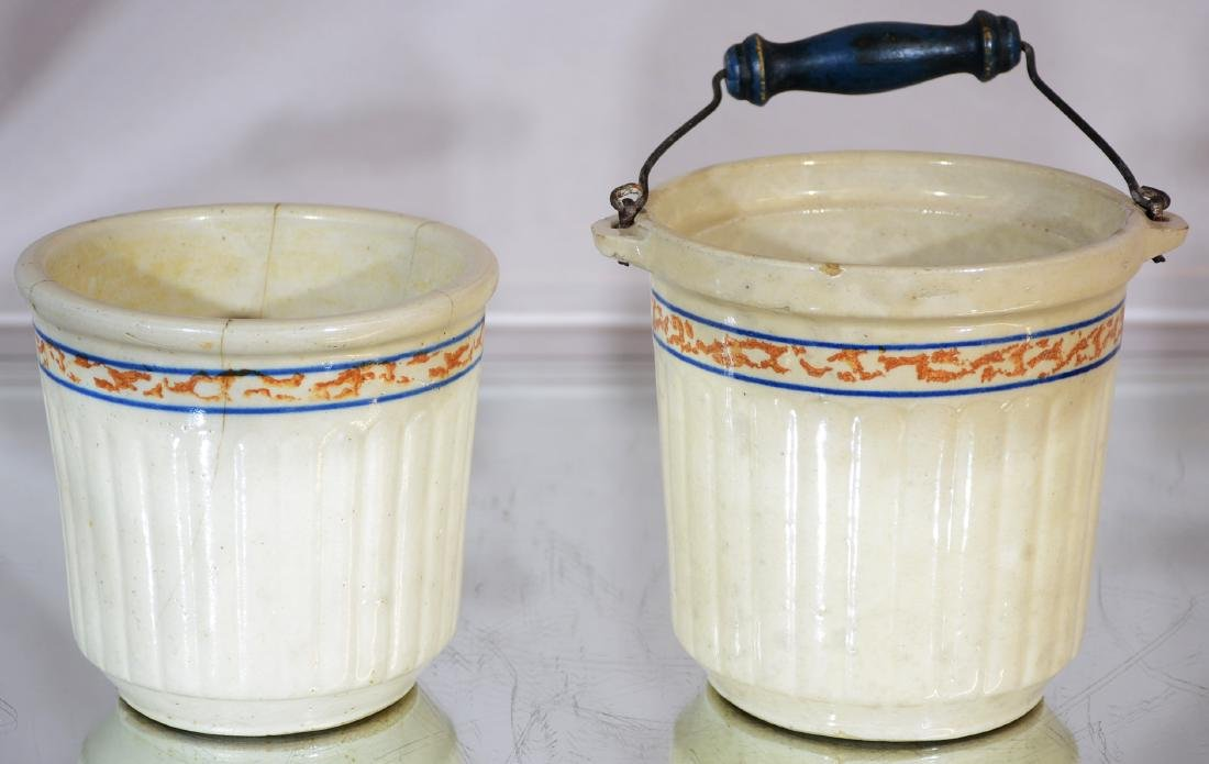 Two Red Wing Stoneware Pots