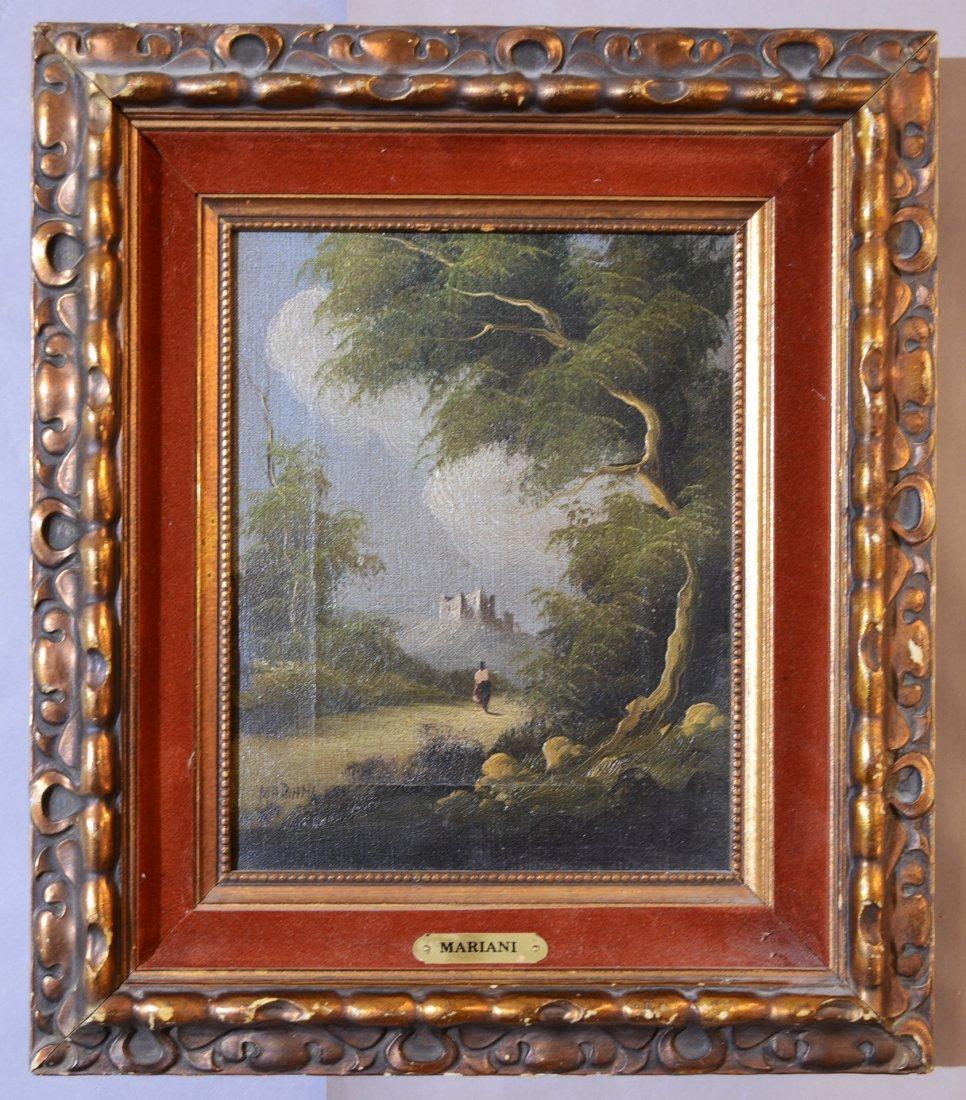 """Mariani"" Landscape Oil on Canvas"