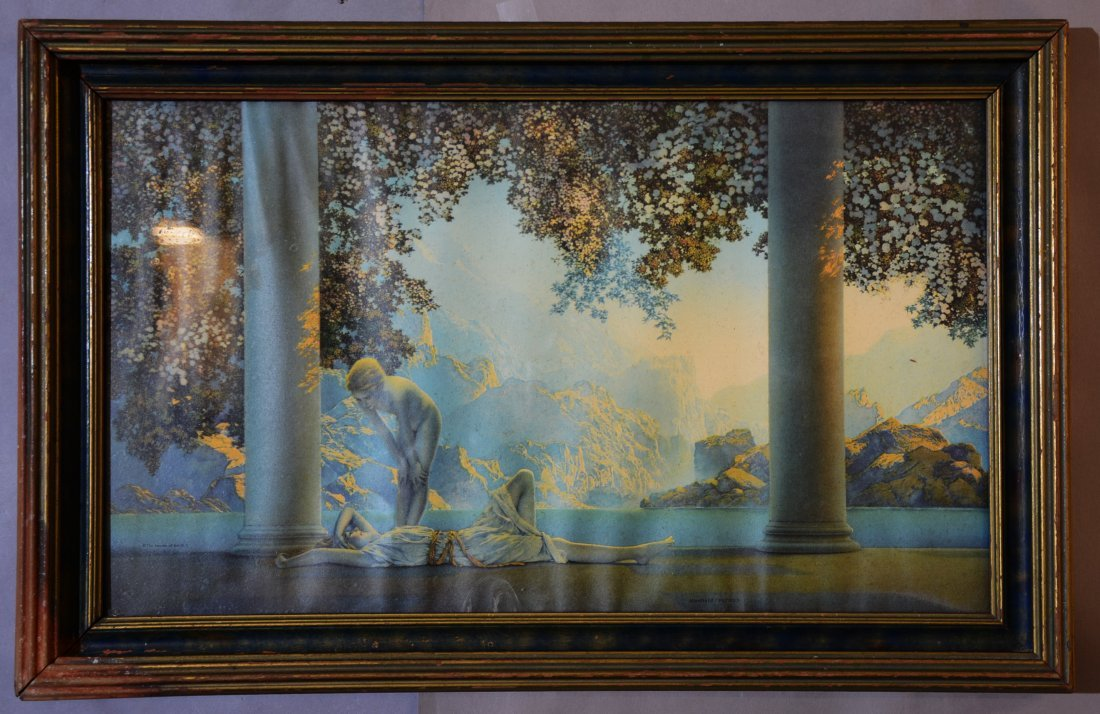 Day Break by Maxfield Parrish Print & Frame